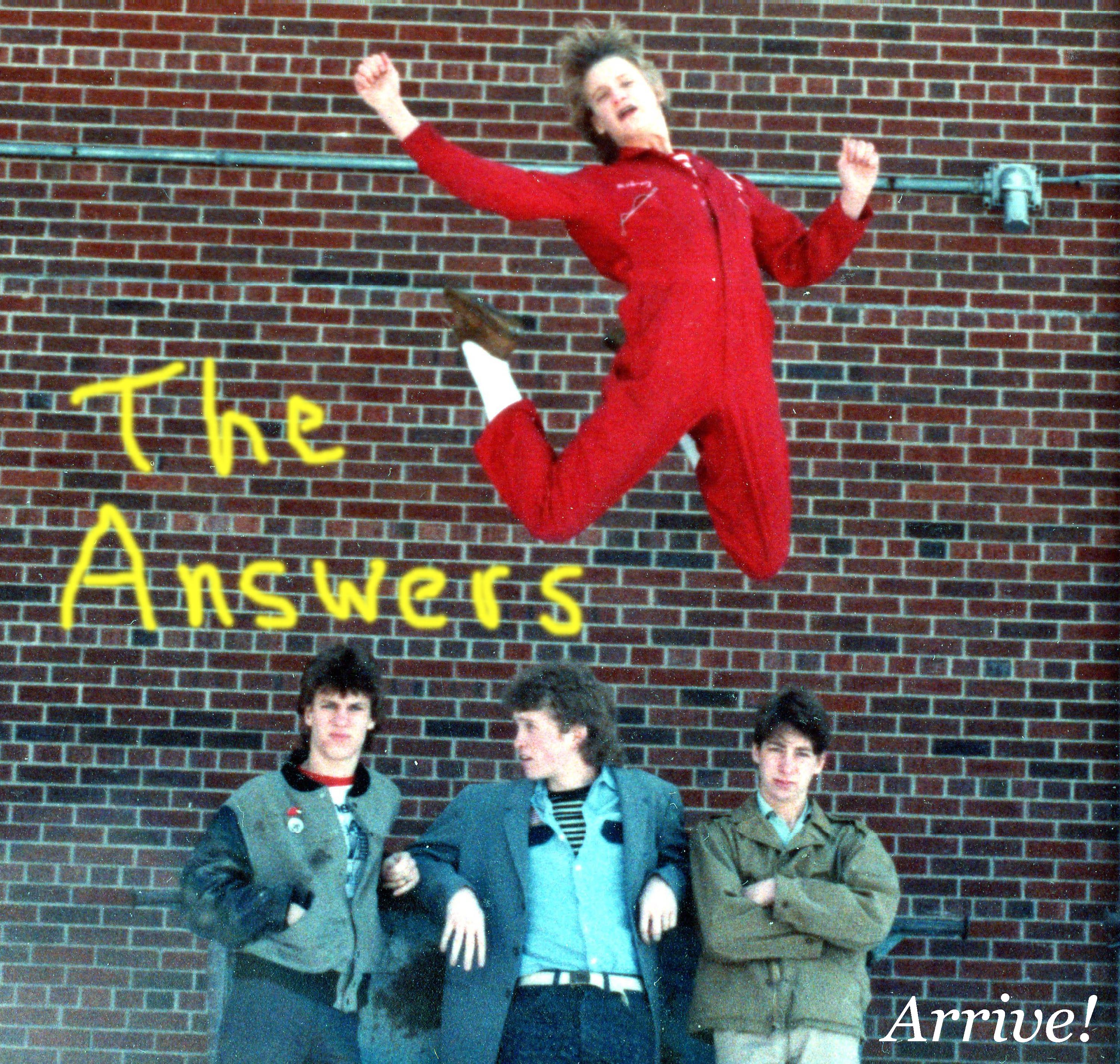 The Answers - Arrive! cover